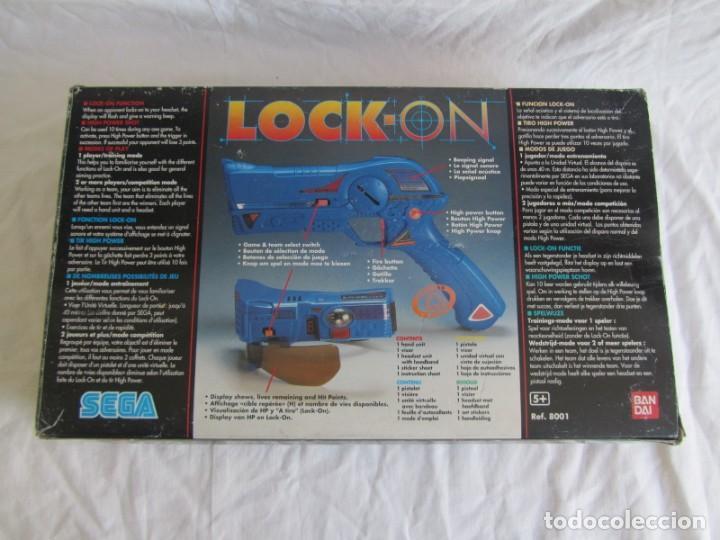 Videojuegos y Consolas: Pistola de Sega Lock-on 1997 - Foto 7 - 240021370