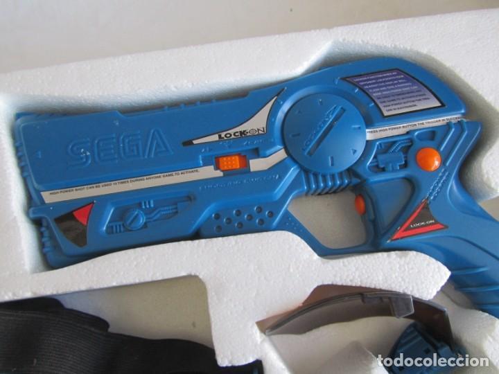 Videojuegos y Consolas: Pistola de Sega Lock-on 1997 - Foto 9 - 240021370