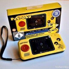 Jeux Vidéo et Consoles: PAC-MAN CONSOLA DE BOLSILLO CON 3 JUEGOS INCLUIDOS - 16 X 10.CM APROX. Lote 240908880
