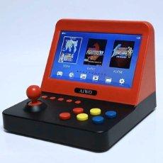 Jeux Vidéo et Consoles: MAQUINA ARCADE CONSOLA PORTATIL AIWA + DOS MANDOS - 20 X 18 X 15.CM NUEVA EN SU CAJA ORIGINAL. Lote 241041350