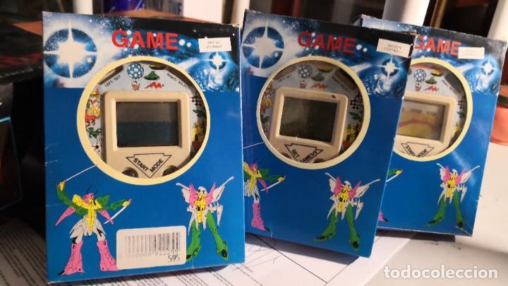 3 MAQUINITAS LCD GAME FORMA CRONÓMETRO EN SU CAJA. SIN COMPROBAR IDEAL COLECCIONISTAS (Juguetes - Videojuegos y Consolas - Otros descatalogados)
