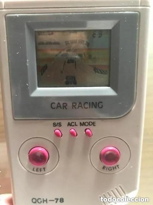 ANTIGUO MAQUINA VIDEOJUEGO CAR RACING QGH 78 (Juguetes - Videojuegos y Consolas - Otros descatalogados)