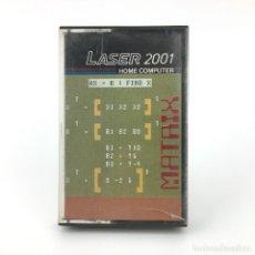 Videojuegos y Consolas: MATRIX LASER 2001 HOME COMPUTER CASSETTE CINTA JUEGO DE ORDENADOR 1983 VINTAGE RARE RETRO 8BIT VTECH. Lote 241938435