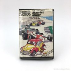 Videojuegos y Consolas: MAURICE MINOR ESTUCHE J. MORRISON 1983 ESTRATEGIA DRAGON COMPUTER 32 64 200 CASSETTE JUEGO ORDENADOR. Lote 241974045
