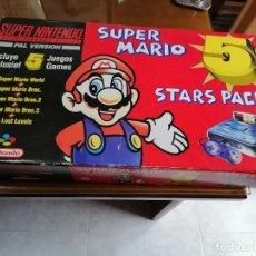 Jeux Vidéo et Consoles: CONSOLA SUPERNINTENDO SUPERMARIO. Lote 241986225