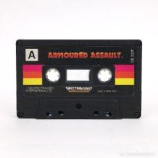 Videojuegos y Consolas: SPECTRAVIDEO ARMOURED ASSAULT 1983 CASSETTE SV·318 SV·328 COMPUTER JUEGO ORDENADOR SOLO CINTA SUELTA. Lote 242756615