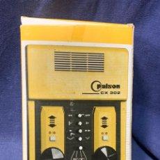 Videojuegos y Consolas: TELE JUEGO CX 302 PALSON CONSOLA JUEGOS TENIS NUEVO EN CAJA ELECTRONICA RIPOLLES 1979 24X15X6CMS. Lote 243275040