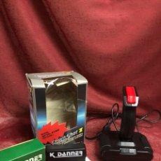 Videojuegos y Consolas: JOYSTICK QUICK SHOT II NUEVO CON ADACTADOR. Lote 243544010