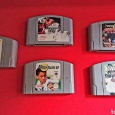 Videojuegos y Consolas: LOTE DE 5 JUEGOS DE NINTENDO 64. Lote 244718020