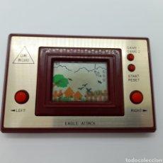 Videojuegos y Consolas: ANTIGUA MAQUINITA CONSOLA. GAME WIZARD. EAGLE ATTACK. MADE IN HONG KONG. FUNCIONA. Lote 244845675
