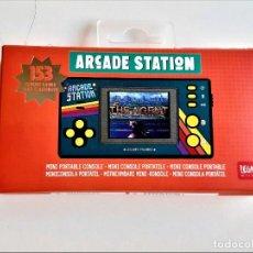 Videojuegos y Consolas: CONSOLA LEGAMI ARCADE STATION-MINI CONSOLA PORTÁTIL CON 153 JUEGOS INCLUIDOS. Lote 244893270