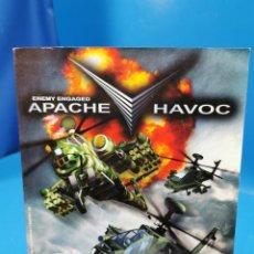 Videojuegos y Consolas: LIBRO MANUAL JUEGO PC APACHE HAVOC -WINDOWS 95/98-MANUAL DE USO PC/CD ROM. Lote 244923685