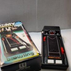 Videojogos e Consolas: COMPU-BOWL DE TOMY EN CAJA ORIGINAL Y FUNCIONANDO REF.9218. Lote 245248530