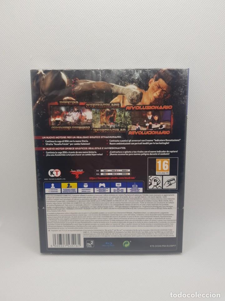 Videojuegos y Consolas: dead or alive 6 PS4 Steelbook Edition PRECINTADO - Foto 3 - 245504925