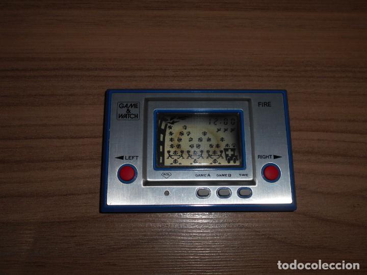 Videojuegos y Consolas: FIRE Nintendo GAME WATCH G&W Todo ORIGINAL - Foto 4 - 245987895