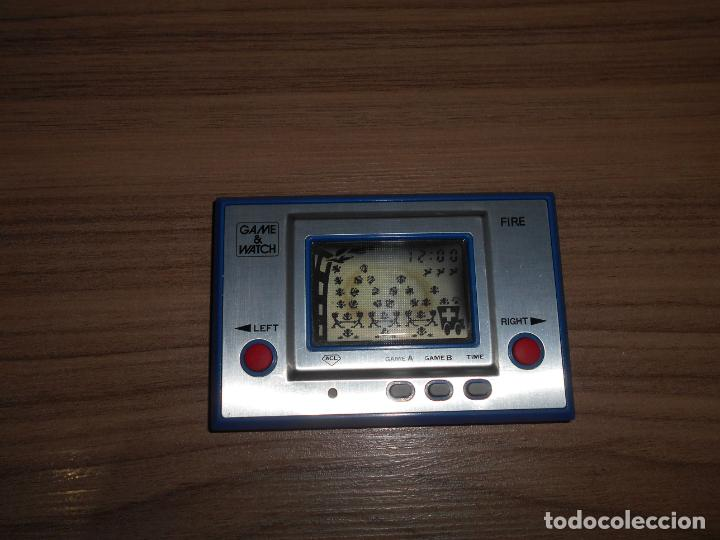 Videojuegos y Consolas: FIRE Nintendo GAME WATCH G&W Todo ORIGINAL - Foto 5 - 245987895
