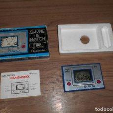 Videojuegos y Consolas: FIRE NINTENDO GAME WATCH G&W TODO ORIGINAL. Lote 245987895