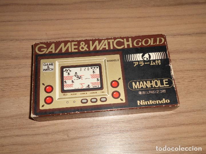 Videojuegos y Consolas: MANHOLE Nintendo GAME WATCH G&W Todo ORIGINAL - Foto 2 - 245988540
