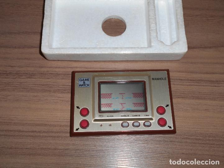 Videojuegos y Consolas: MANHOLE Nintendo GAME WATCH G&W Todo ORIGINAL - Foto 4 - 245988540