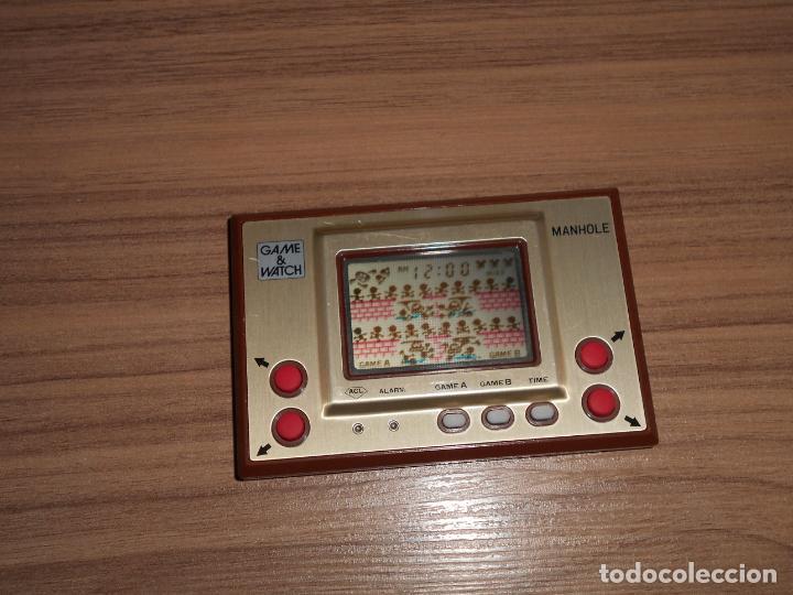 Videojuegos y Consolas: MANHOLE Nintendo GAME WATCH G&W Todo ORIGINAL - Foto 5 - 245988540