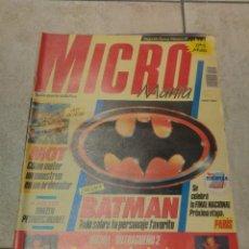 Videojuegos y Consolas: REVISTA MICROMANIA MICRO MANIA 2ª EPOCA NUMERO 17. Lote 246205215