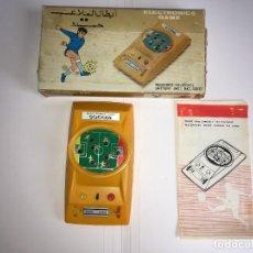 Videojuegos y Consolas: MAQUINA FUTBOL SOCCER ELECTRONICS GAME. Lote 246333245