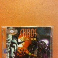 Videogiochi e Consoli: CD. CHAOS CONTROL. UNA VELOZ Y FURIOSA LUCHA POR LA LIBERTAD. Lote 247333620
