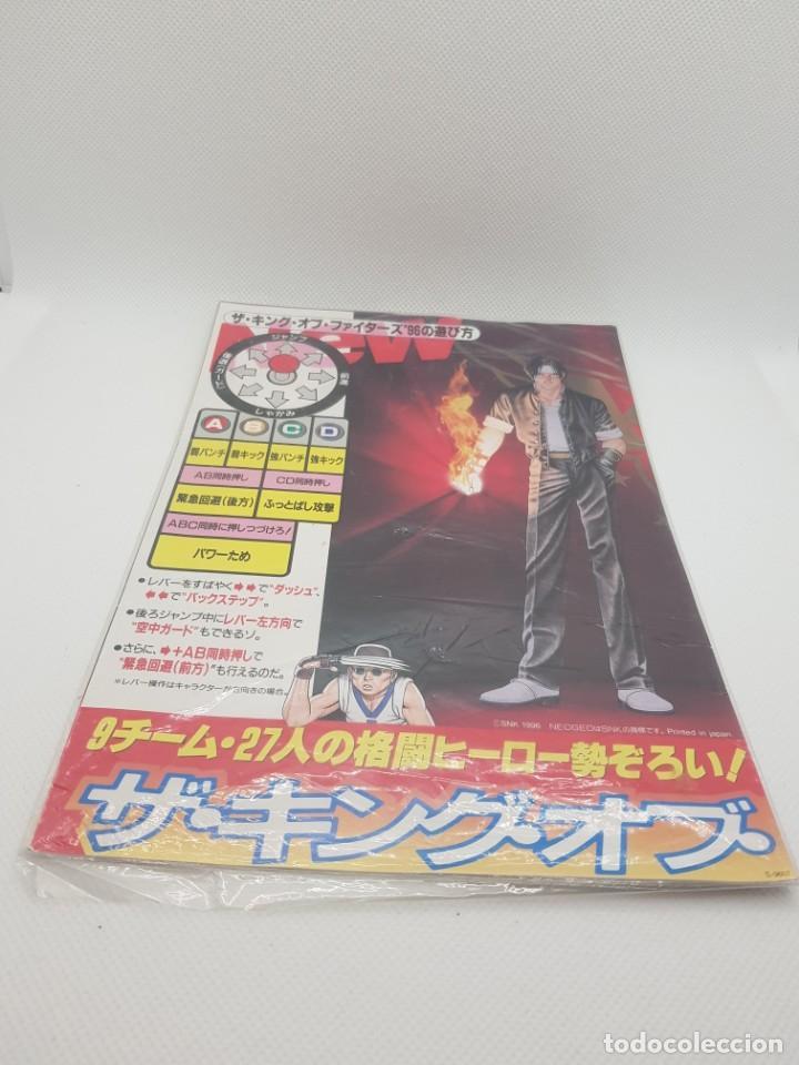 Videojuegos y Consolas: King of Fighters 96 Original Flyers Artset (Neo Geo MVS 1996) No Game - Foto 2 - 248202960