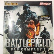 Videojuegos y Consolas: GUIA DE JUEGO DOBLE, BATTLEFIELD BAD COMPANY 2, BIOSHOCK 2. Lote 251928365