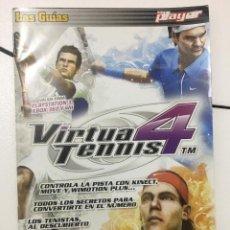 Videojuegos y Consolas: GUIA DE JUEGO DOBLE, VIRTUAL TENNIS 4, BULLETSTORM. Lote 251929195