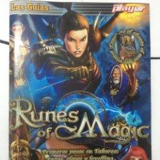 Videojuegos y Consolas: GUIA DE JUEGO DOBLE, RUNES OF MAGIC, JUSTCAUSE2. Lote 251929305
