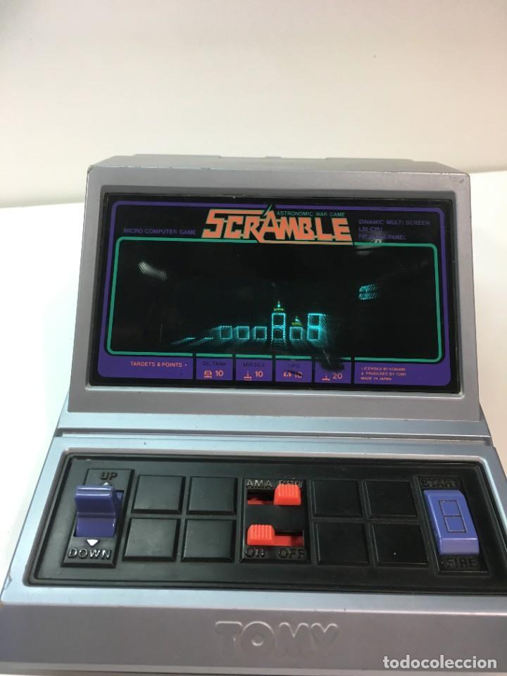 Videojuegos y Consolas: Game watch Scramble de Tomy, Super Cobra, lsi game color, Nintendo, bandai,maquinita, videojuego - Foto 3 - 252415320