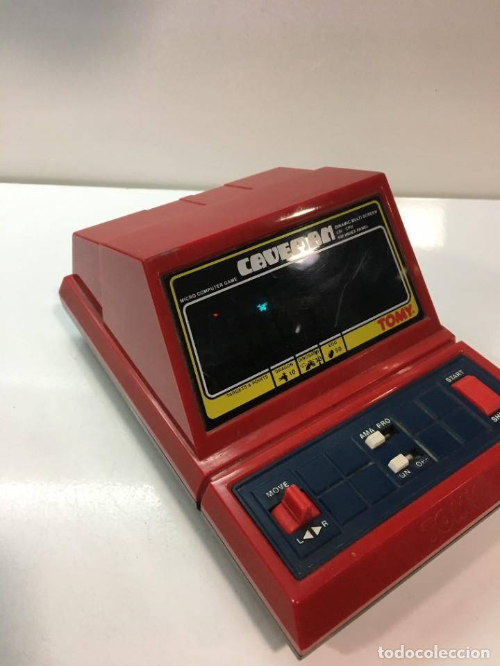 Videojuegos y Consolas: Game watch Caveman de Tomy, cavernicola lsi game color, Nintendo, bandai,maquinita, videojuego - Foto 5 - 252415655