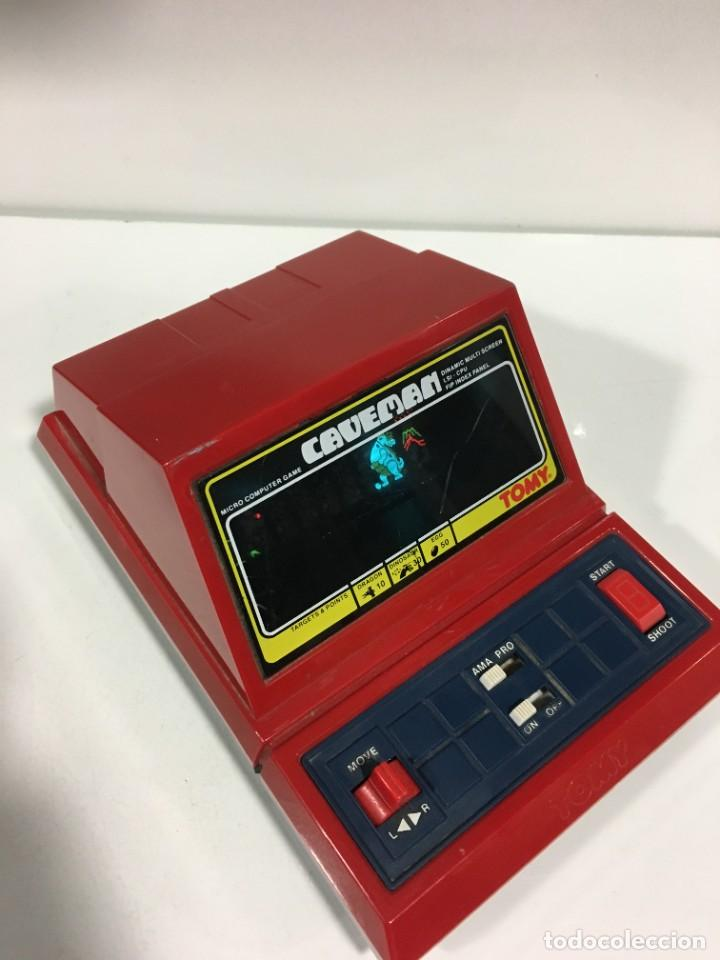 Videojuegos y Consolas: Game watch Caveman de Tomy, cavernicola lsi game color, Nintendo, bandai,maquinita, videojuego - Foto 6 - 252415655