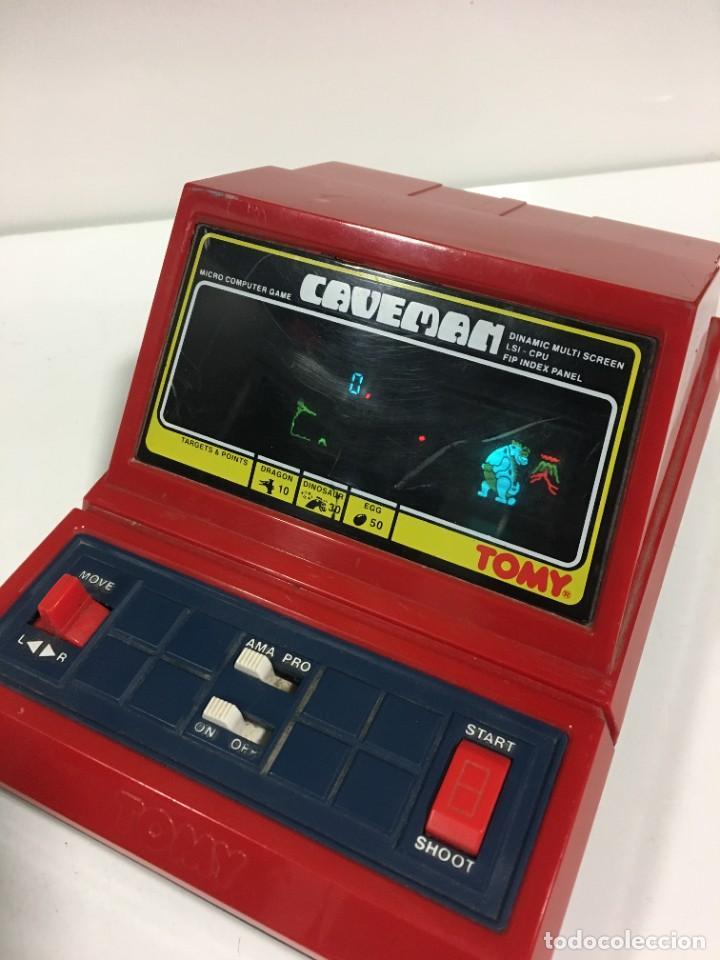 Videojuegos y Consolas: Game watch Caveman de Tomy, cavernicola lsi game color, Nintendo, bandai,maquinita, videojuego - Foto 10 - 252415655