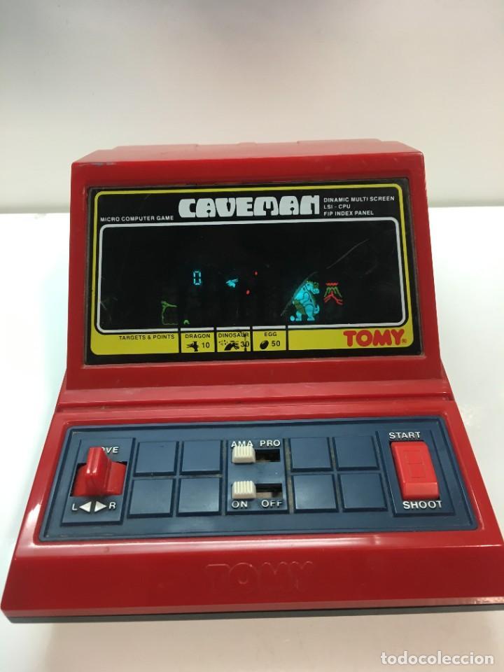 Videojuegos y Consolas: Game watch Caveman de Tomy, cavernicola lsi game color, Nintendo, bandai,maquinita, videojuego - Foto 12 - 252415655