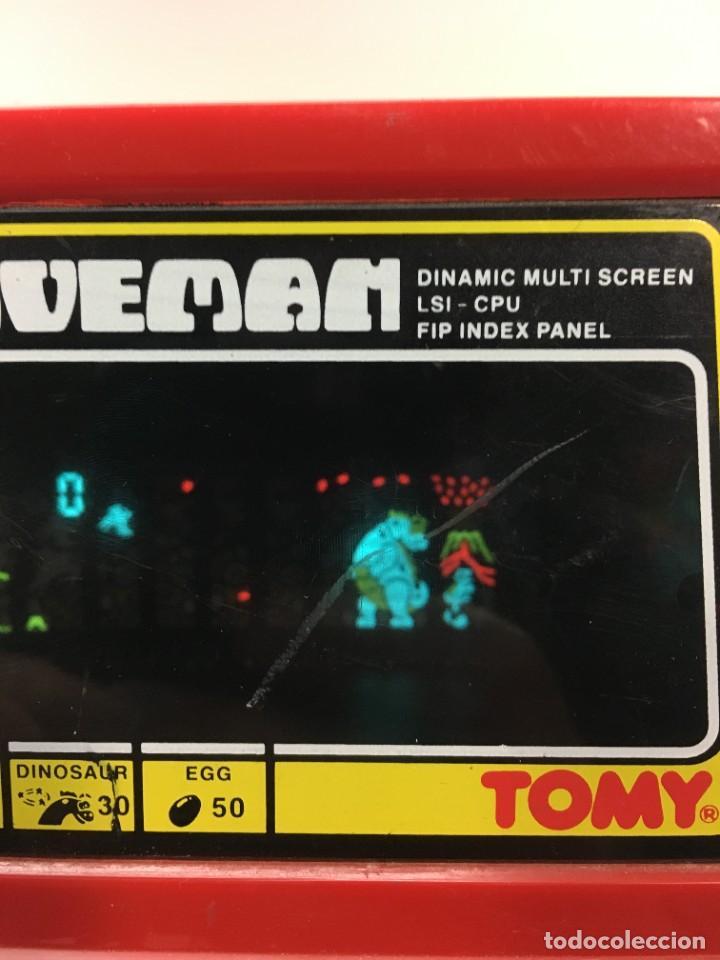Videojuegos y Consolas: Game watch Caveman de Tomy, cavernicola lsi game color, Nintendo, bandai,maquinita, videojuego - Foto 13 - 252415655