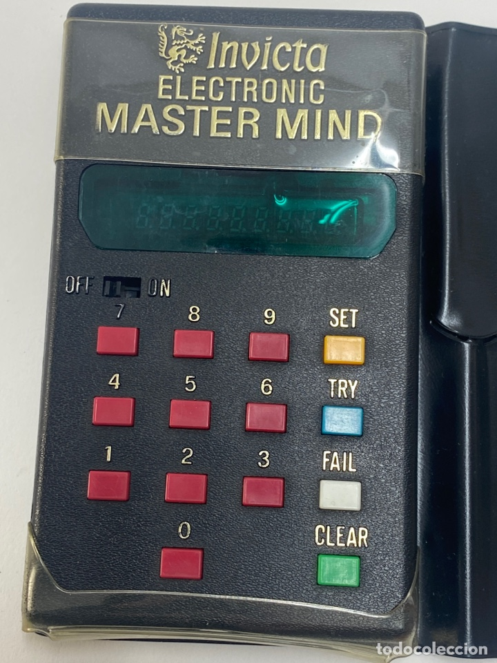 *INVICTA ELECTRONIC MASTER MIND. AÑOS 70. (Juguetes - Videojuegos y Consolas - Otros descatalogados)