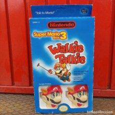 Videojuegos y Consolas: WALKIE TALKIE NINTENDO SUPER MARIO BROS 3 TRASERA GAME WATCH 1989 1990. Lote 253737995