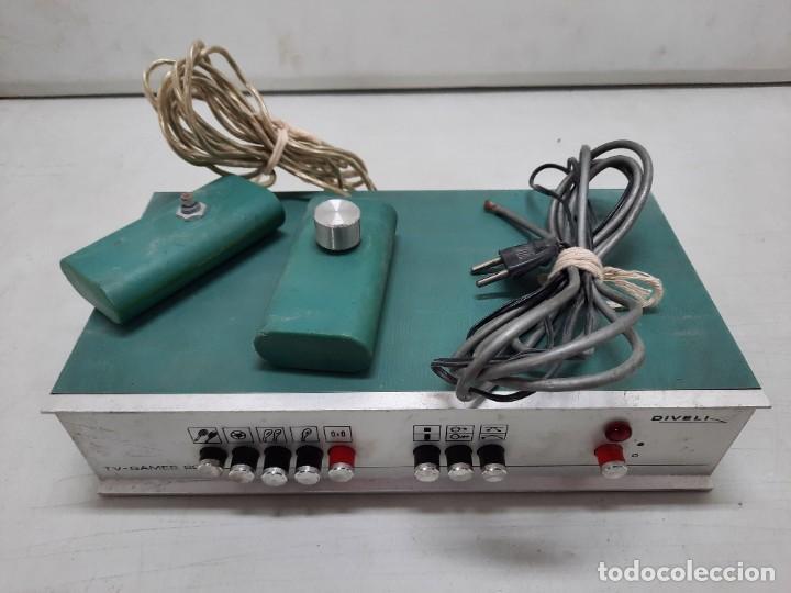Videojuegos y Consolas: CONSOLA ANTIGUA TV GAMES 2000 DIVELI - Foto 2 - 254902720