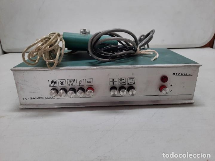 Videojuegos y Consolas: CONSOLA ANTIGUA TV GAMES 2000 DIVELI - Foto 7 - 254902720
