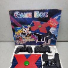 Videojuegos y Consolas: CONSOLA ANTIGUA GAME BOX. Lote 254904365