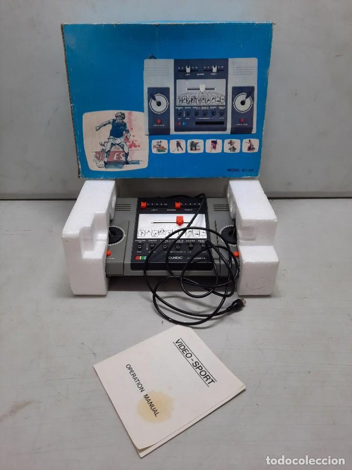 CONSOLA ANTIGUA SOUNDIC (Juguetes - Videojuegos y Consolas - Otros descatalogados)