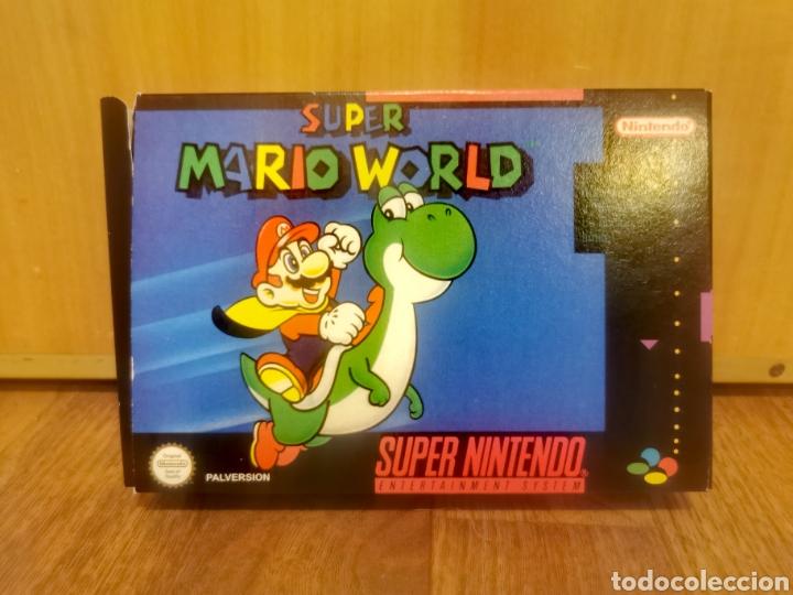 SUPER MARIO WORLD (Juguetes - Videojuegos y Consolas - Otros descatalogados)
