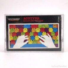 Videojuegos y Consolas: ACUTYPE EDUCATIONAL PROGRAM 1984 SOFTWARE EDUCATIVO ENTRENAMIENTO MECANOGRAFIA SPECTRAVIDEO CASSETTE. Lote 255360415