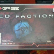 Videojuegos y Consolas: NOKIA NGAGE RED FACTION. Lote 255481280