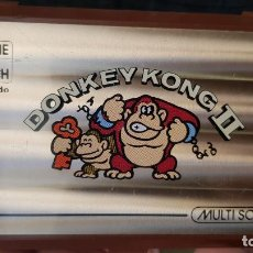 Videojuegos y Consolas: GAME & WATCH DE NINTENDO DONKEY KONG II 1983. FUNCIONANDO. Lote 257811230