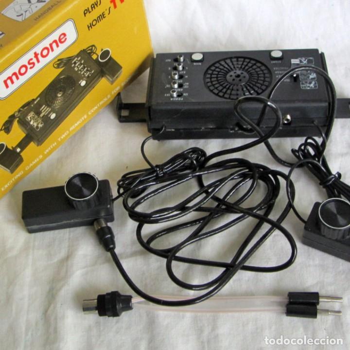 TELEJUEGO MOSTONE T-800, CABLEADO, CAJA ORIGINAL E INTRUCCIONES (Juguetes - Videojuegos y Consolas - Otros descatalogados)