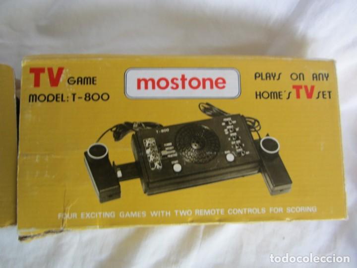 Videojuegos y Consolas: Telejuego Mostone T-800, cableado, caja original e intrucciones - Foto 10 - 259244495