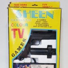 Videojuegos y Consolas: ANTIGUA CONSOLA SHEEN 106C COLOR CIDEO SPORT - AÑO.1976 - 77 /. Lote 260275570